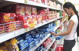 Thời gian qua, bánh kẹo sản xuất trong nước và nhập khẩu đã có mức tăng từ 2-7%.