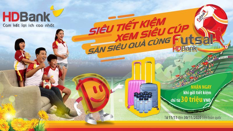Giải Futsal HDBank Cúp Quốc gia 2020 diễn ra từ ngày 15/11 - 26/11/2020.