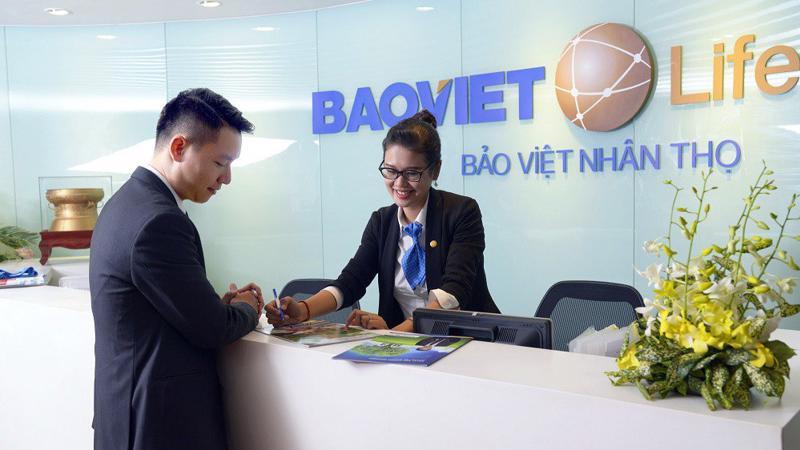 Một chi nhánh của Bảo Việt Nhân Thọ.