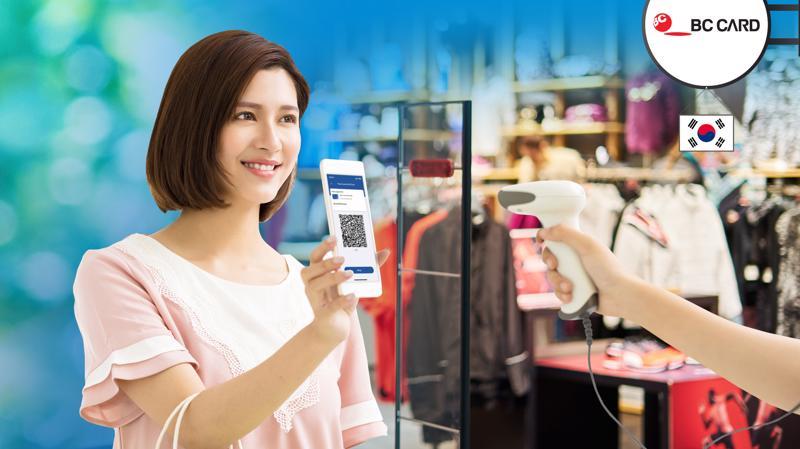 Hiện nay tại thị trường Hàn Quốc có khoảng hơn 110.000 đơn vị Chấp nhận thanh toán QR thuộc hệ thống của BC Card, tập trung tại các siêu thị miễn thuế, trung tâm thương mại Lotte.