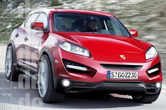 Porsche Cajun lộ diện - Ảnh: Carblog.