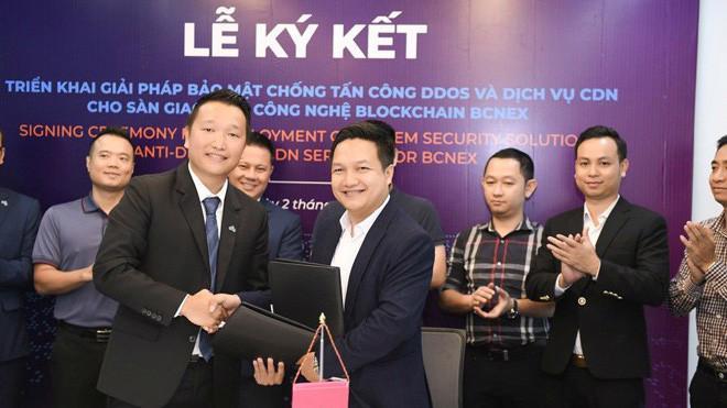Lễ ký kết hợp đồng dịch vụ về bảo mật giữa Akamai, CMC và Bcnex nhằm chuẩn bị tốt nhất cho việc khởi chạy chính thức của sàn giao dịch công nghệ blockchain Bcnex và sự kiện ICO tới đây.