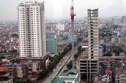 Nhiều dự án cải tạo chung cư cũ bị đình lại vì chỉ đạo dừng xây nhà cao tầng khu trung tâm của Thủ tướng.