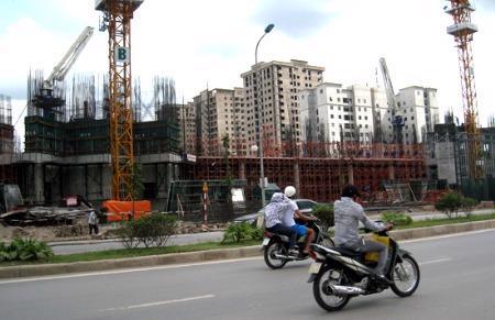 Không ít dự án khủng của các đại gia bất động sản ì ạch tiến độ vì đầu ra gặp khó.