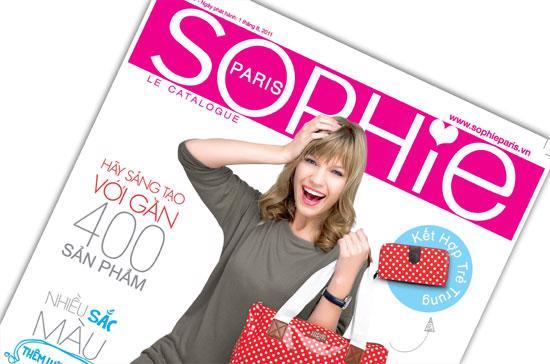 Sophie Paris Vietnam đã gặt hái được thành công bất ngờ khi mới chỉ cung cấp dịch vụ đặt hàng trực tuyến kể từ tháng 4/2011.