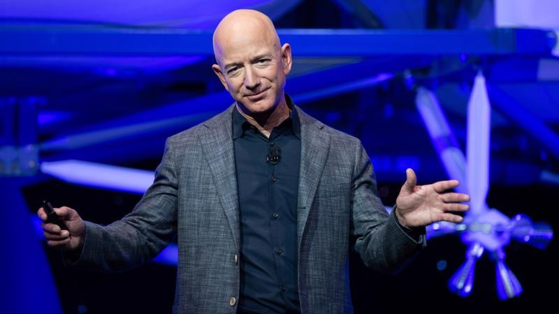 Tỷ phú Jeff Bezos - Ảnh: Getty Images