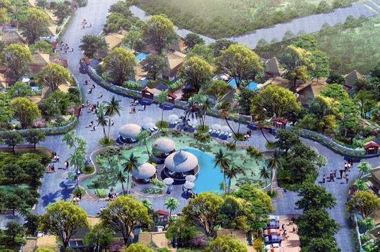 Phối cảnh dự án Bella Resort (Phú Quốc).