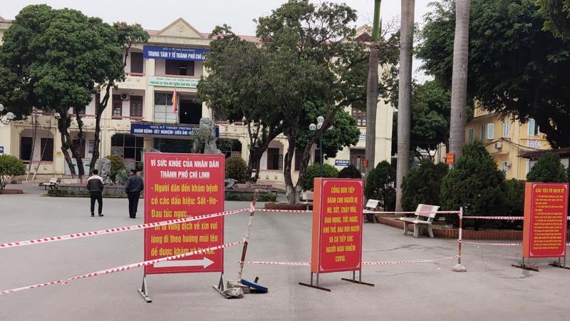 Trung tâm Y tế Tp Chí Linh, Hải Dương thời điểm hiện tại. Ảnh - Đức Tùy.