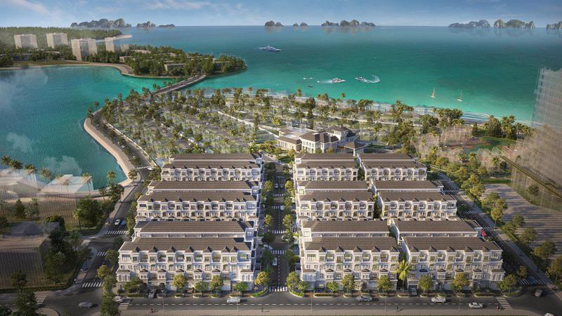 Dự án Grand Bay Halong - Tổ hợp nghỉ dưỡng giải trí 5 sao ngay sát đường bờ Vịnh trải dài trên 1km, ôm trọn tầm nhìn đắt giá hướng biển sẽ ra mắt tại Quảng Ninh.