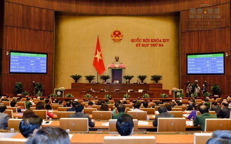Quốc hội đã thông qua Luật quản lý tài sản công.