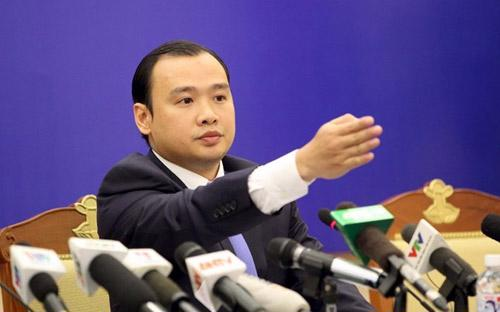 Người phát ngôn Bộ Ngoại giao Lê Hải Bình trả lời báo chí sáng 29/10.<br>