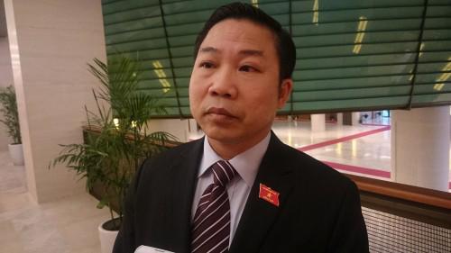 Uỷ viên Thường trực Uỷ ban Về các vấn đề xã hội, đại biểu Quốc hội Lưu Bình Nhưỡng.