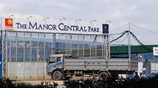 Khu đô thị The Manor Central Park của Tập đoàn Bitexco.