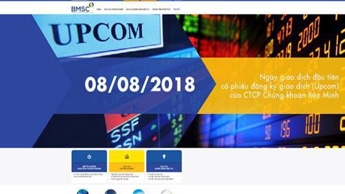 Trang web của BMSC.