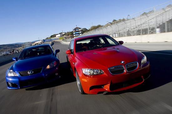 Lexus đang bị BMW cạnh tranh quyết liệt trong cuộc chiến thị phần tại Nhật - Ảnh: Autoevolution.