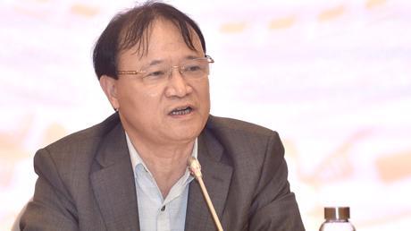 Thứ trưởng Bộ Công Thương Đỗ Thắng Hải trả lời tại họp báo chiều 2/3 - Ảnh: VGP