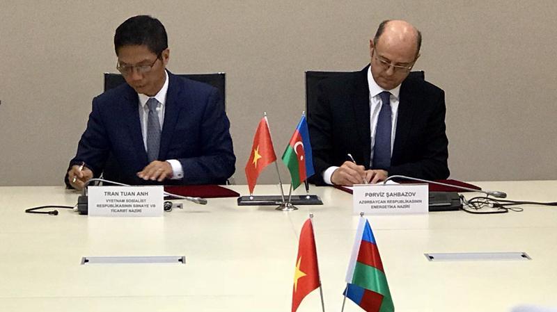 Năm 2017, thương mại hai chiều Việt Nam – Azerbaijan đạt 252 triệu USD.