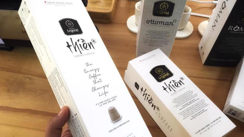Dòng sản phẩm cà phê viên nén (Capsule) tiếp tục được Tập đoàn này tung ra thị trường với ba hương vị: Roman, Ottoman và Thiền.