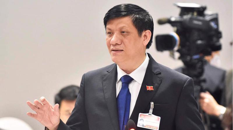 Bộ trưởng Nguyễn Thanh Long phát biểu tại cuộc họp trực tuyến khẩn cấp của Ban Chỉ đạo quốc gia phòng chống dịch Covid-19.