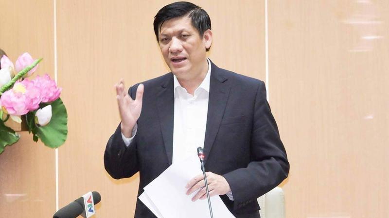 Bộ trưởng Nguyễn Thanh Long chủ trì cuộc họp. Ảnh - Tuấn Anh.