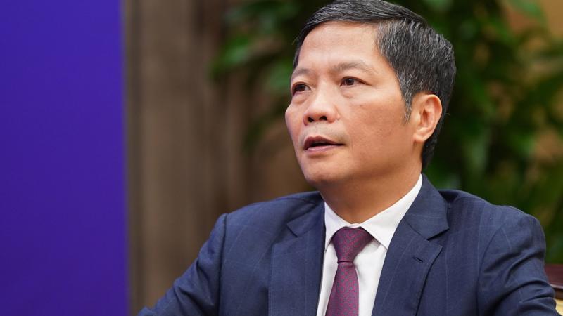 Bộ trưởng Trần Tuấn Anh. Ảnh: Quang Hiếu/VGP