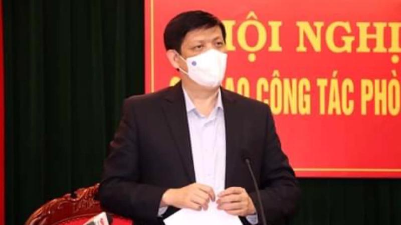 Bộ trưởng Bộ Y tế Nguyễn Thanh Long tại cuộc họp chiều mùng 3 Tết. Ảnh - Bộ Y tế cung cấp.
