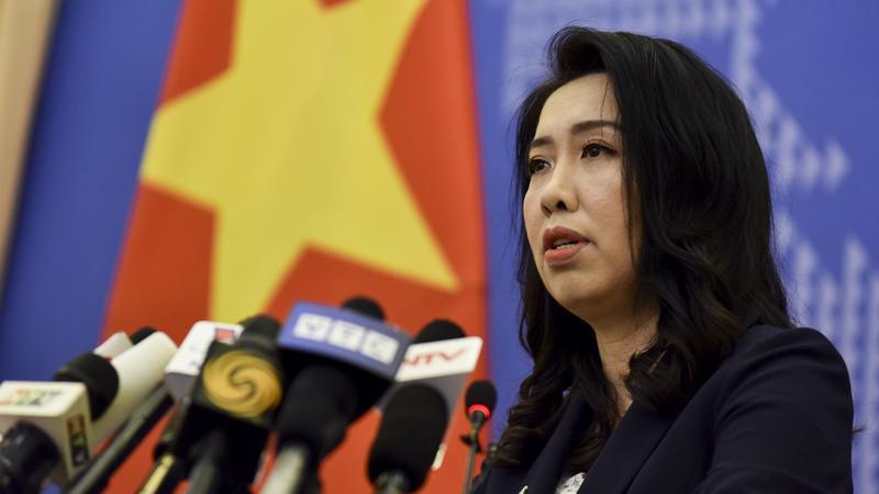 Người phát ngôn Bộ Ngoại giao Lê Thị Thu Hằng - Ảnh: TGVN.