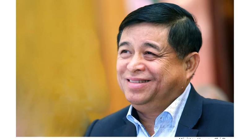 Ông Nguyễn Chí Dũng, Bộ trưởng Bộ Kế hoạch và Đầu tư