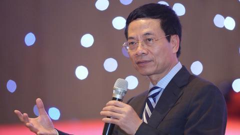 Ông Nguyễn Mạnh Hùng, Bộ Trưởng Bộ Thông tin & Truyền thông