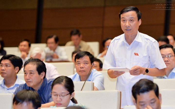 Đại biểu Bùi Văn Xuyền có quan điểm khác với Uỷ ban Thường vụ Quốc hội về bổ sung tội kinh doanh đa cấp trái phép