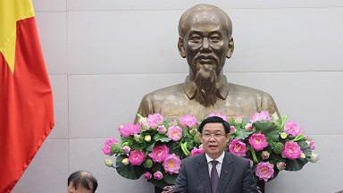Phó thủ tướng Vương Đình Huệ: Giá cả đi vào giai đoạn bình thường, ổn định theo xu hướng giảm hơn so với các năm trước nhiều.