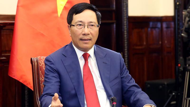 Bộ trưởng Bộ Ngoại giao Phạm Bình Minh - Nguồn: VGP.