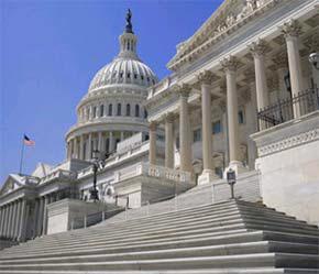 Trụ sở Quốc hội Mỹ, địa điểm quen thuộc của các nhà vận động hành lang hoạt động tại nước này.