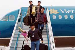Từ 2/6, khách hàng đặt vé qua mạng của Vietnam Airlines có thể thanh toán sau tại Techcombank.com.vn.