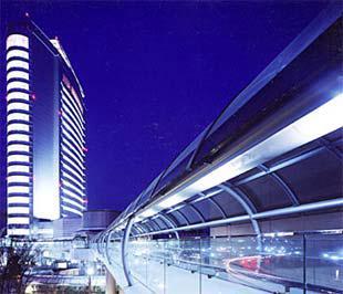Một công trình tại thành phố Takasaki (Nhật Bản), do Kume Sekkei thiết kế.
