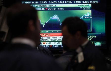 Giới đầu tư lạc quan về tình hình kinh tế Mỹ, bất chấp những cơn gió độc từ phía châu Âu.
