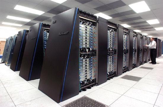 Một hệ thống máy chủ của IBM. Tập đoàn hiện không hướng đến đối tượng khách hàng đại chúng.
