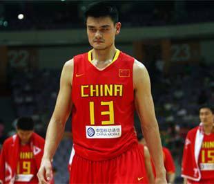 Yao Ming, vận động viên bóng rổ nổi tiếng của Trung Quốc.