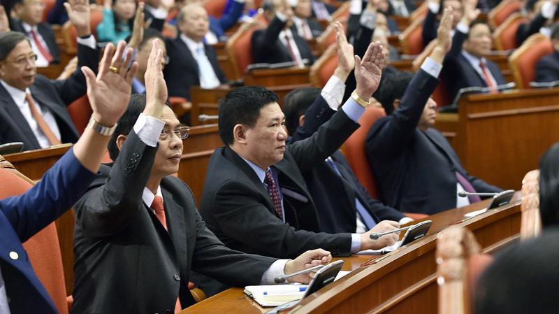 Ban Chấp hành Trung ương đã thống nhất cao thông qua các nghị quyết, kết luận và quy định của Trung ương - Ảnh: VGP