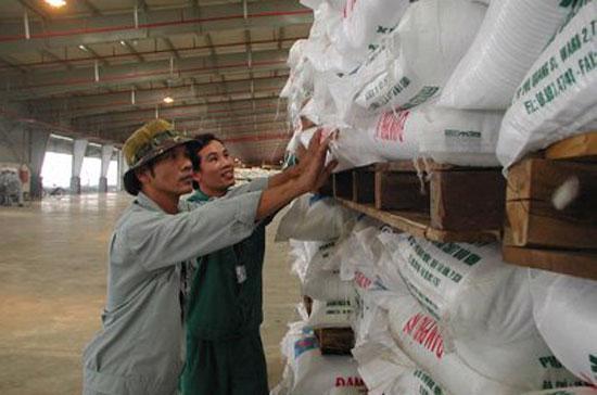 Tính đến hết tháng 10/2011, lượng phân bón nhập khẩu ước đạt 3,5 triệu tấn với giá trị nhập khẩu 1,4 tỷ USD.