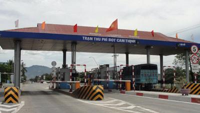 Trạm thu phí Cam Thịnh (Khánh Hoà).