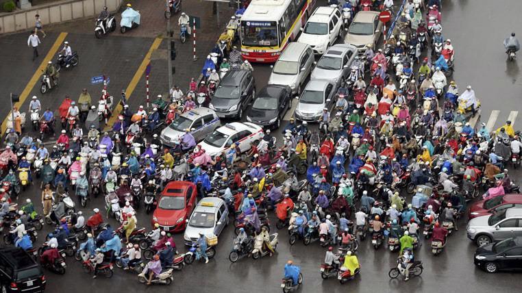 Hà Nội sẽ cấm xe máy từ năm 2030.