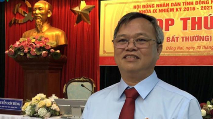 Ông Cao Tiến Dũng được phê chuẩn làm Chủ tịch tỉnh Đồng Nai