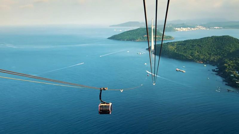 Dự án tuyến cáp treo 3 dây Cát Hải – Phù Long trên đảo Cát hải và đảo Cát Bà thuộc huyện Cát Hải - Ảnh minh họa.