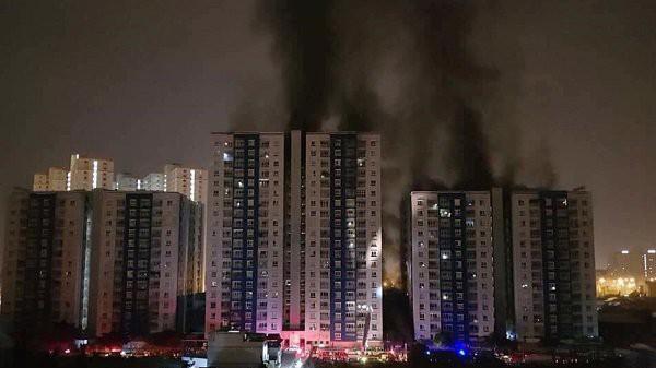 Công ty 577 phủ nhận không phải chủ đầu tư chung cư bị cháy Carina