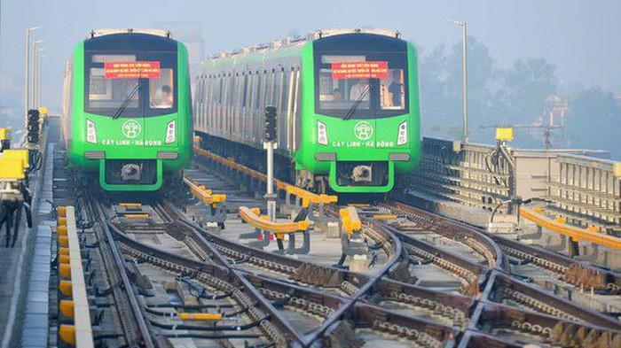Đường sắt Cát Linh - Hà Đông sẽ được kéo dài khoảng 20 km.