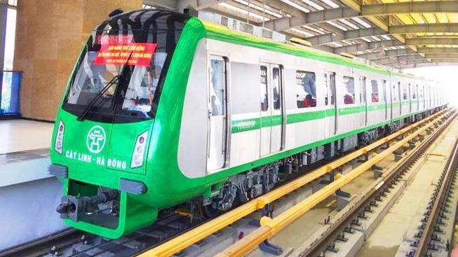 Tổng thầu và Metro Hà Nội đang tiếp tục duy trì mỗi ngày vận hành 2 đoàn tàu trên tuyến.