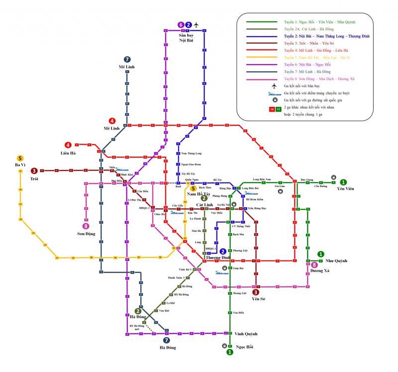 Bản đồ ga tàu được lấy trên mạng.