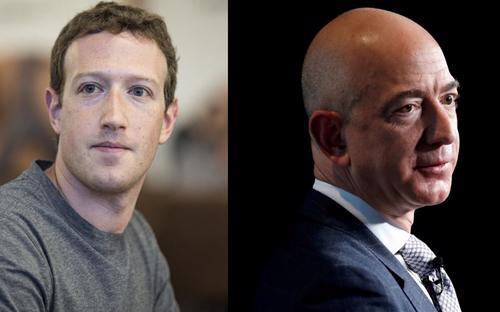 Jeff Bezos và Mark Zuckerberg là hai trong số những tỷ phú thiệt hại nhiều nhất sau phiên giao dịch ngày 10/8.<br>