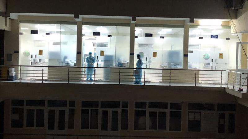 Phòng xét nghiệm SARS-CoV-2 thuộc Trung tâm Kiểm soát bệnh tật tỉnh Quảng Ninh. Ảnh - CDC Quảng Ninh.